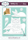 Creative Expressions Paper Cuts 3D Collection Owl Craft Die